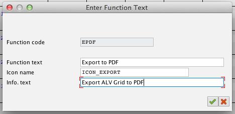 Customising PF-STATUS – Adding custom icon/function in ALV